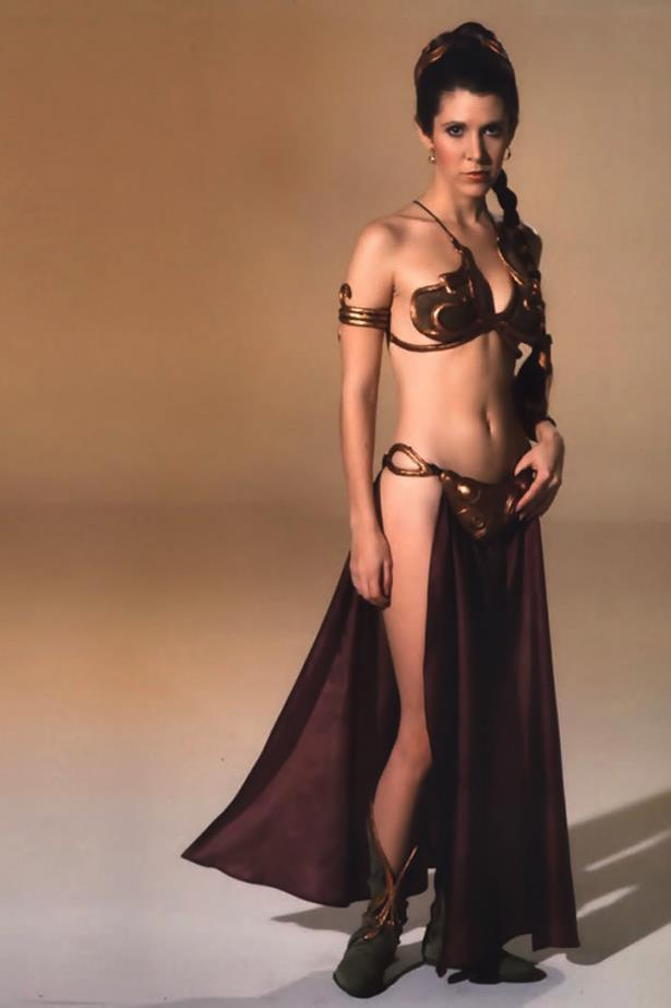 Ah, the Princess Leia slave bikini that spawned a thousand nerd fantasies.