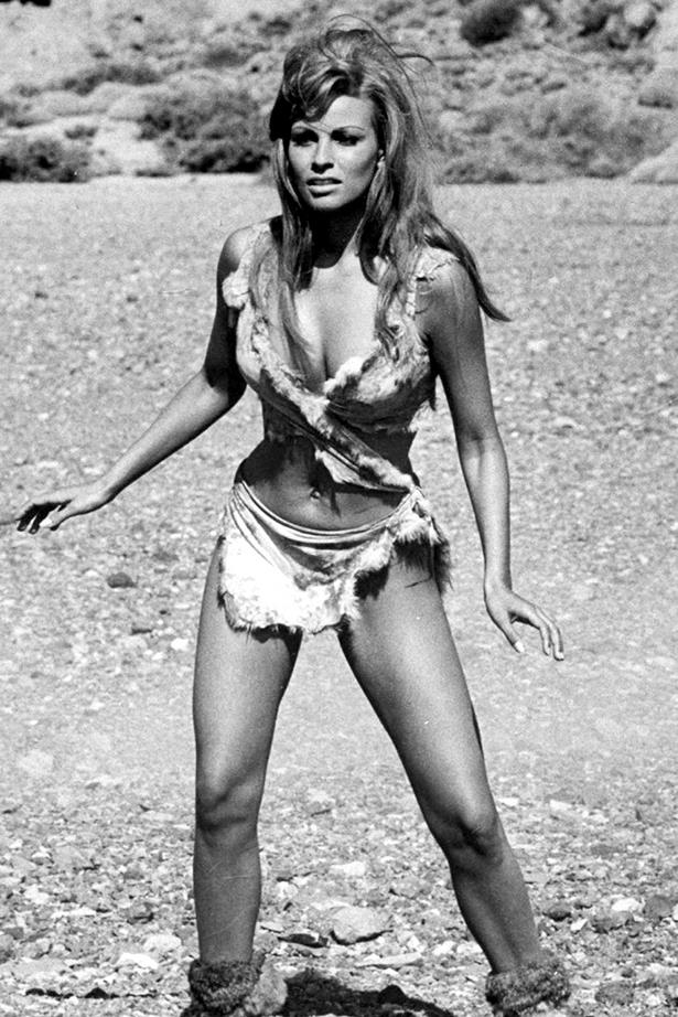 Raquel Welch in her tiny fur-bikini was pretty much the beginning of the classic swimsuit scene.