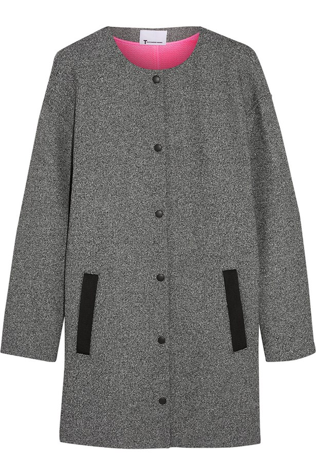 Coat, $970, T by Alexander Wang.