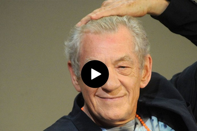 Sir Ian McKellan gives a dramatic reading of Taylor Swift's Bad Blood