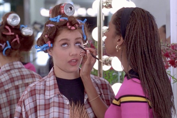 """<strong>Clueless</strong> <br> <br> <em>""""Cher's main thrill in life is a makeover""""</em> <br> <br> Who doesn't love the moment we see <strong><em>Brittany Murphy's</em></strong> <em><em>Tai </em></em>transition from grunge-girl to Beverly Hills <em>Betty</em>, complete <em>Coke</em>-can curlers?"""