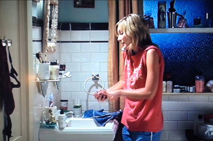 "<strong>Elizabethtown</strong> <br> <br> The only thing we took from this <em>2005 </em>box-office flop was how much <strong>Kirsten Dunst's</strong> character <em>Claire </em>loved her <em>Philosophy</em>. <br> <br> We spy a <a href=""http://mecca.com.au/philosophy/purity-made-simple-facial-cleanser/V-001028.html""><a href=""null"">Purity Made Simple cleanser</a></a>, a tub of H<a href=""http://mecca.com.au/philosophy/renewed-hope-day-moisturiser/V-020582.html"">ope In A Jar</a> and multiple bottles of <a href=""http://mecca.com.au/philosophy/cinnamon-buns-shower-gel/I-001049.html#start=1"">Shower Gel</a>. Girl's got taste.<em></em>"