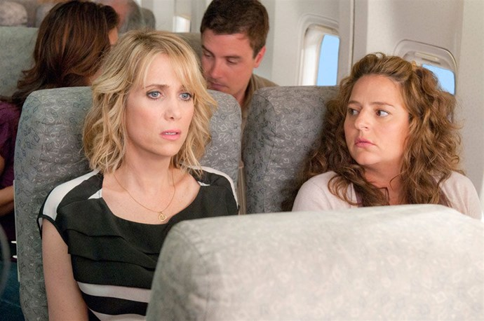 ANNIE, BRIDESMAIDS Have you ever taken pills and made a scene on an airplane? Well, then you'll probably relate to Kristen Wiig's Annie, a woman who goes off the rails after her best friend gets engaged. It takes a lot of missteps for Annie to begin getting her life and friendships back on track, but when she does it gives us hope that anyone can get through even the most humiliating of bridal showers.