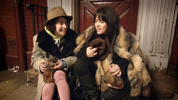 "ABBI ABRAMS AND ILANA WEXLER, BROAD CITY ""My biggest weakness is that I lose my purse a lot,"" Ilana says in an episode of <i>Broad City</i>. ""But my biggest strength is that I always get it back."" That quote sums up the comedy series, which follows two twenty-somethings, played by Abbi Jacobson and Ilana Glazer, trying to figure it out in New York City. They might not always make the best choices, but at least they always have fun making their mistakes. Plus, now we know what pegging is.</p>"