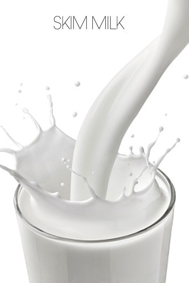 "<strong>SKIM MILK</strong> <br> <br> ""<em>Low fat dairy, particularly with milk leaves us with a significant amount of lactose, the naturally occurring sugar in milk, made up of galactose and glucose</em>"" says Alwill. <br> <br> ""<em>It does have ½ the calories of full cream milk but it can be watery and as such not promote fullness the same extent full cream or lite milk may</em>,"" says Burrell. ""<em>Plus nutrient absorption of Vitamins A & D will be lower as there is no fat to help absorb these fat soluble vitamins</em>."""