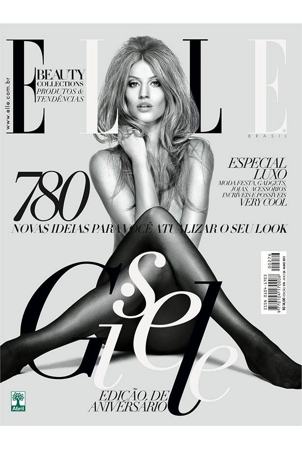 <strong>2011 </strong> <br> <br> On the cover of <em>ELLE Brazil</em>, May 2011 edition