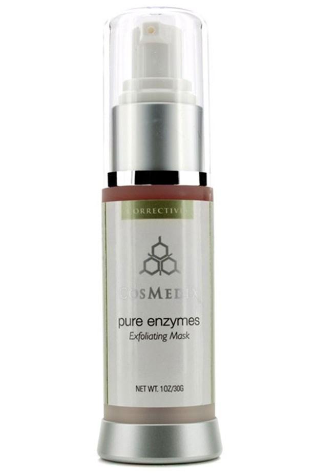"<em>A seriously great skin-brightener</em> <br> <br> <a href=""http://www.theskincareclinic.com.au/product/cosmedix-pure-enzymes/"">Pure Enzymes Exfoliating Mask, $66, Cosmedix</a>"