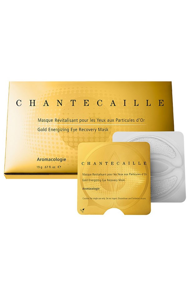 """<em>Best for reviving puffy, tired eyes</em> <br> <br> <a href=""""http://mecca.com.au/chantecaille/gold-energizing-eye-recovery-mask/I-017629.html"""">Gold Energizing Eye Recovery Mask, $255, Chantecaille</a>"""