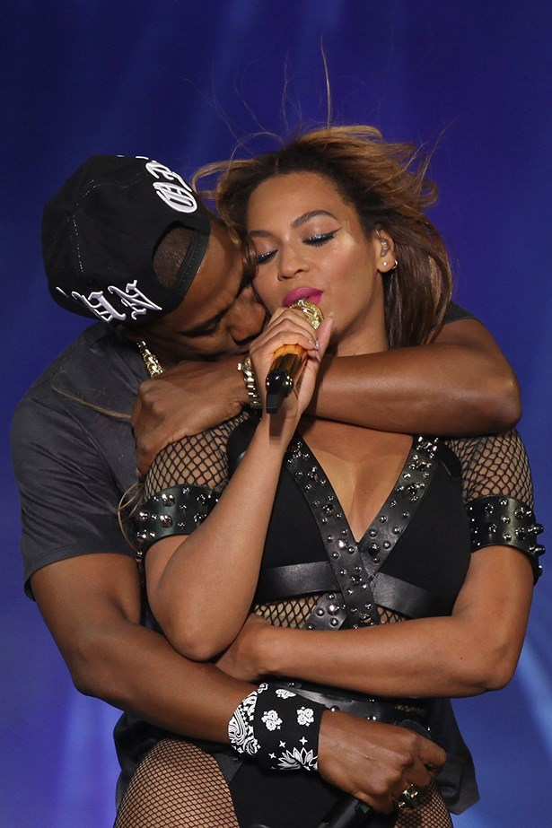 Beyonce and Jay-Z on tour