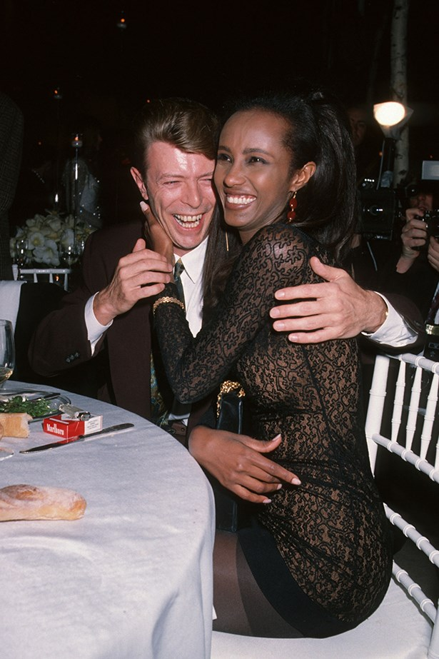 David Bowie and Iman - Because they are basically the coolest.