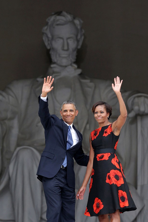 Michelle and Barack Obama - Barack and Michelle breaking up would be like your mom and dad splitting.