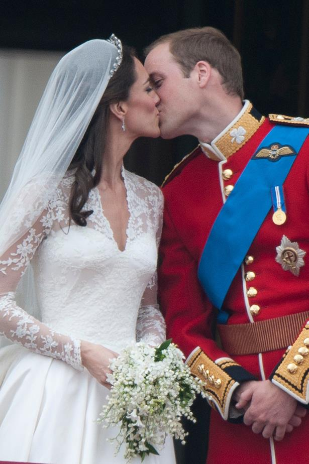 """Prince William and Kate Middleton - Despite the fact that they're actual royalty, the Duke and Duchess of Cambridge seem to have a totally """"normal"""" marriage. Plus they have the cutest kids—and we really wouldn't be able to say good-bye to KMidd's royal wardrobe."""