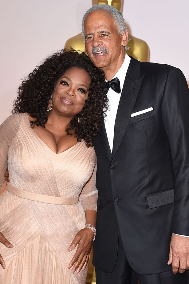 Oprah Winfrey and Stedman Graham - Because if Oprah and Stedman break up, we're ALL BREAKING UP....