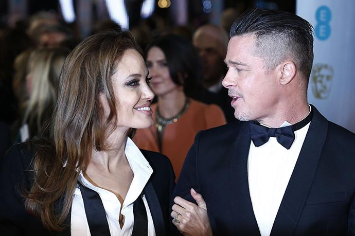 Angelina Jolie and Brad Pitt - In addition to the fact that we envy them for visibly having the hots for each other after 11 years, we're not really ready to let go of the Brangelina portmanteau.
