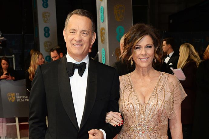 Tom Hanks and Rita Wilson - One of the most classy and classic couples in Hollywood. We love them SO hard.