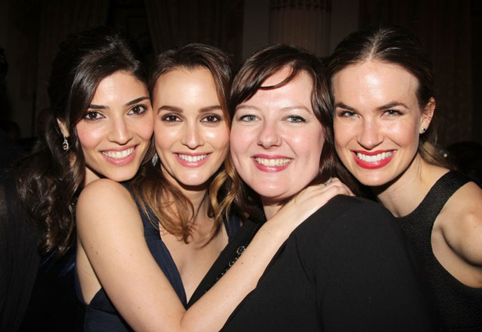 LEIGHTON MEESTER AND ZUZANNA SZADKOWSKI. Blair-and-Dorota-IRL besties.