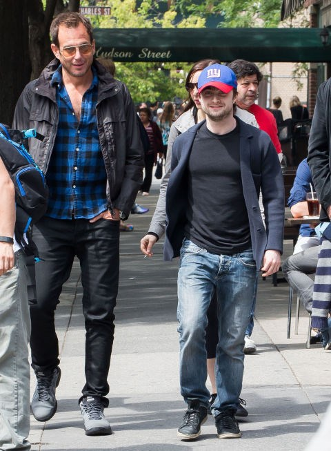"WILL ARNETT AND DANIEL RADCLIFFE. ""Why not?"" bros."