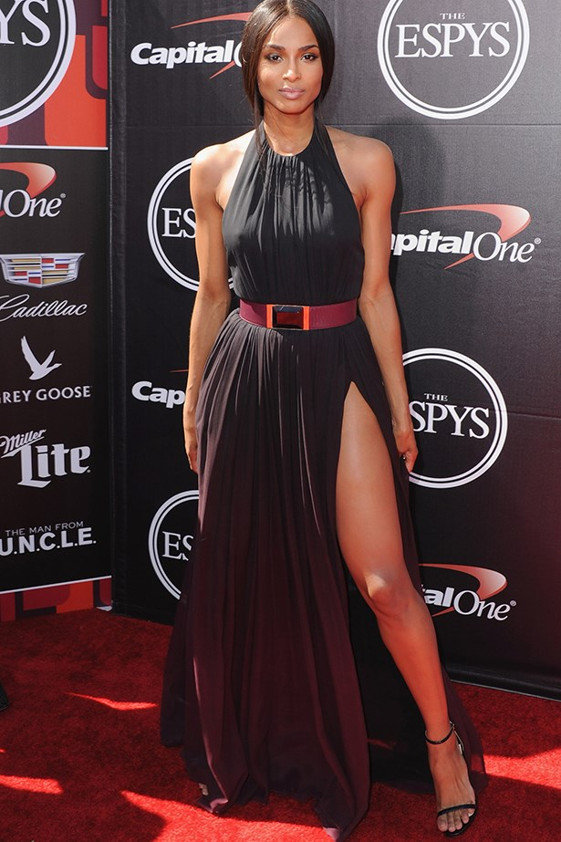 Ciara took to the Espy's the other day in Elie Saab and pretty much slayed us.