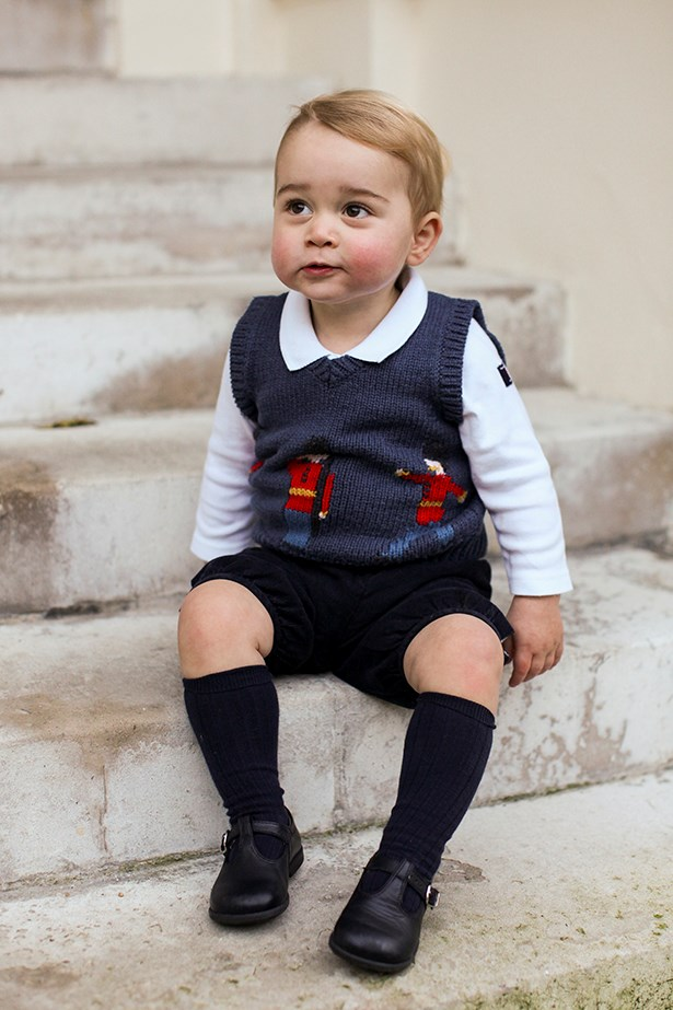 Prince George official portraits
