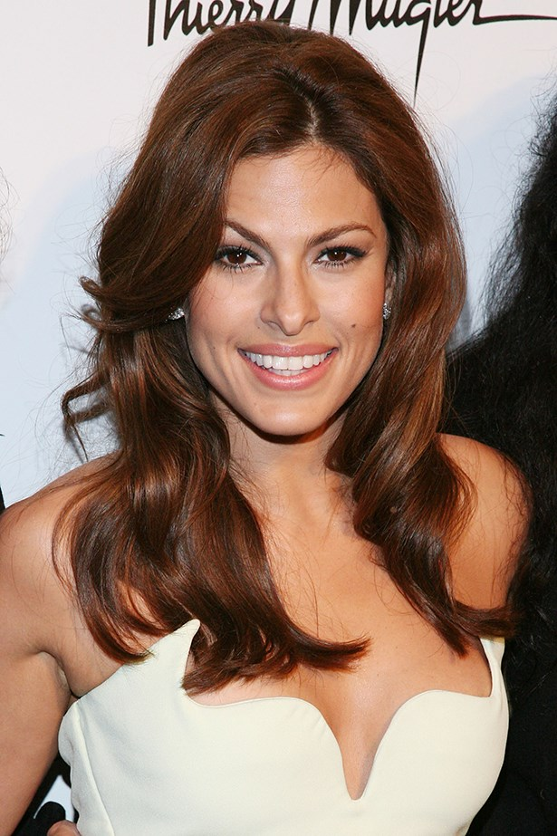 "Eva Mendes: ""I know how people like to believe that [about catfighting], but it's a very sexist way of thinking. Nobody ever asks that when men work together in an ensemble cast. I've been in the business 10 years and I've never had a negative situation with another actress - ever."""