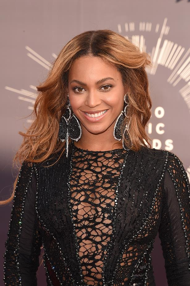 """Beyonce: """"We need to stop buying into the myth about gender equality. It isn't a reality yet. Today, women make up half of the U.S. workforce, but the average working woman earns only 77 percent of what the average working man makes. But unless women and men both say this is unacceptable, things will not change. Men have to demand that their wives, daughters, mothers, and sisters earn more—commensurate with their qualifications and not their gender. Equality will be achieved when men and women are granted equal pay and equal respect."""""""