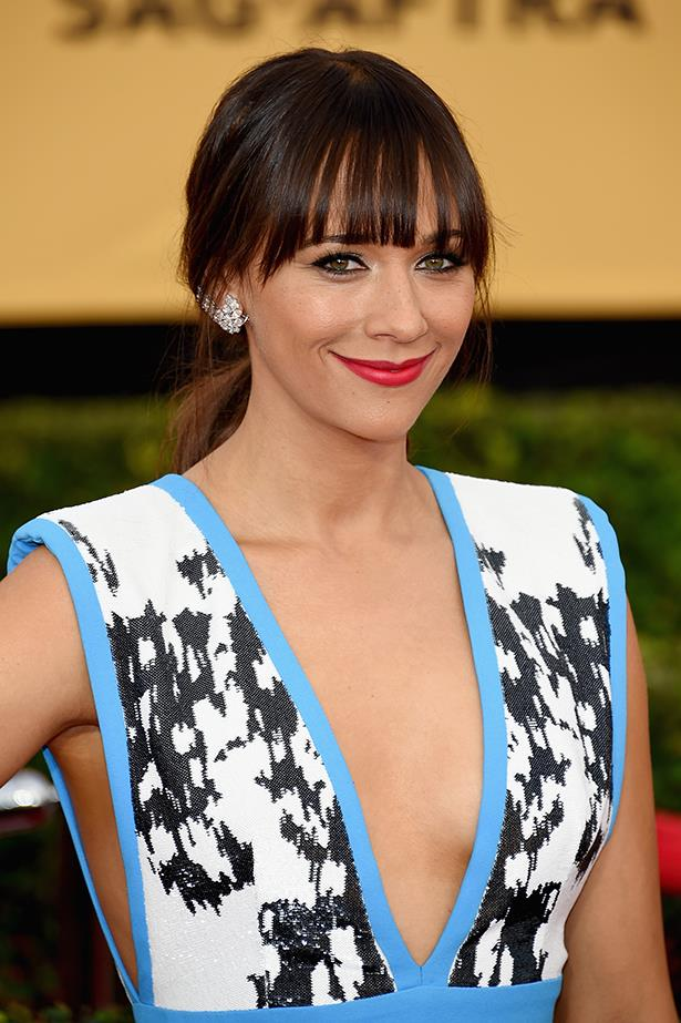 """Rashida Jones on mandatory high heels at Cannes: """"It's part of a larger problem, which is heels are the worst. They make your legs look better, whatever, but mainly it's men designing them and setting these rules. … If they make a rule where that I have to wear heels on the carpet, then I'm making a rule that I'm just going to wear flats any time I'm asked to wear heels. I think it's a snobbery thing. I think it's like 'this is the way we do things here,' you know, and it's sexist."""""""