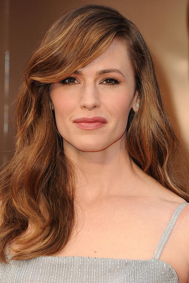 """Jennifer Garner: """"We got home [after a press junket] at night and we compared notes. And I told him every single person who interviewed me, I mean every single one, and this is true of the red carpet here tonight Elle, asked me, 'How do you balance work and family?' and he said the only thing that people asked him repeatedly was about the tits on the 'Blurred Lines' girl, which, for the record if we're talking about them, they are real and they are fabulous. As for work-life balance, he said no one asked him about it that day. As a matter of fact, no one had ever asked him about it. And we do share the same family. Isn't it time to kinda change that conversation?"""""""