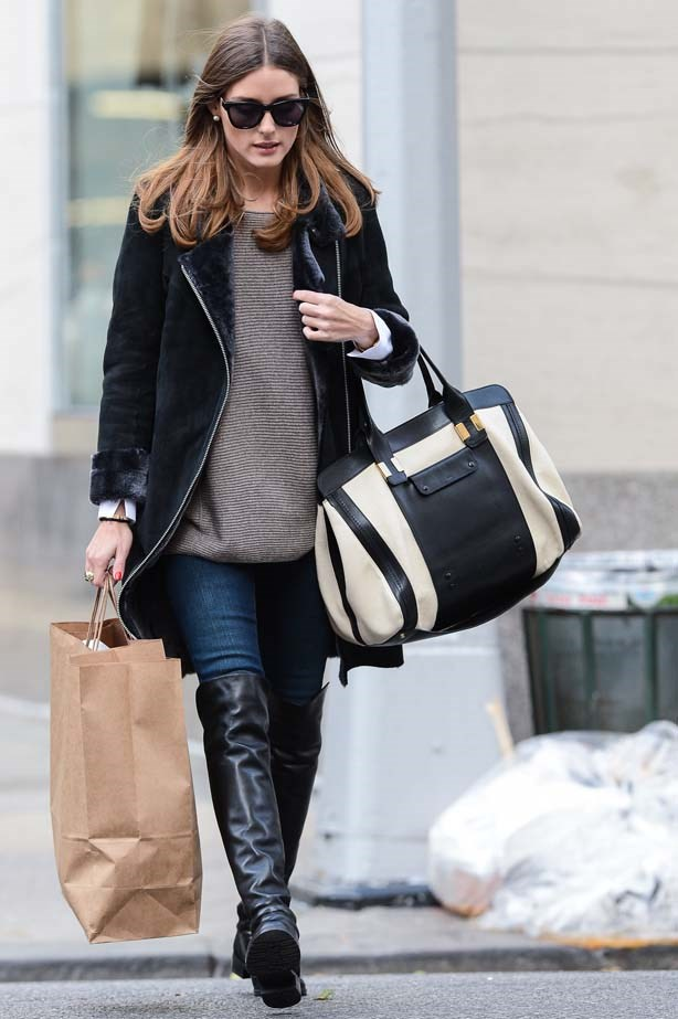<p>November 02, 2012</p> <p>Olivia Palermo walks in the Upper East Side.</p>
