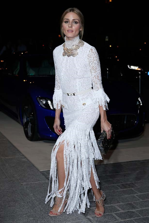 <p>September 30, 2014</p> <p>Olivia Palermo attends the CR Fashion Book Issue N°5 launch party as part of the Paris Fashion Week Womenswear SS15.</p>