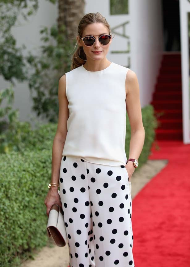 <p>February 21, 2015</p> <p>Olivia Palermo attends the final day of the Cartier International Dubai Polo Challenge.</p>
