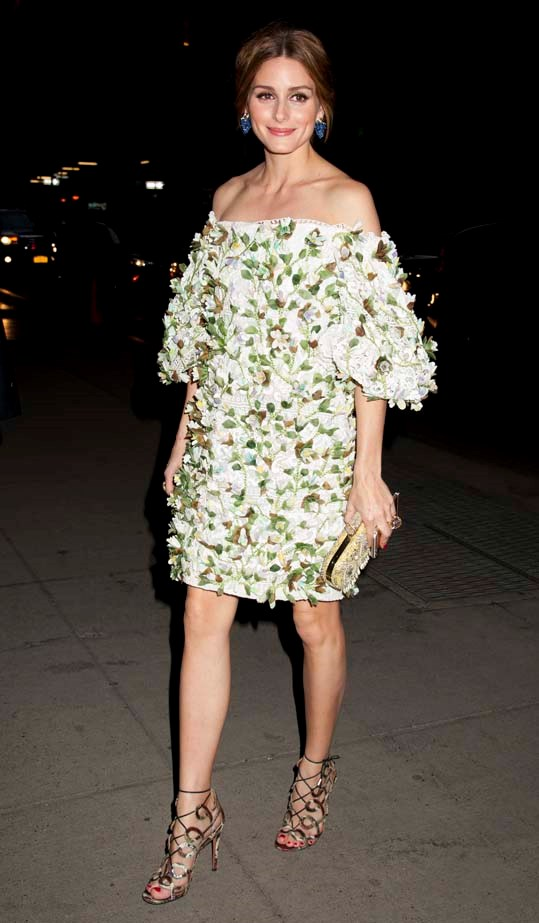 <p>April 16, 2015</p> <p>Olivia Palermo out in New York City</p>