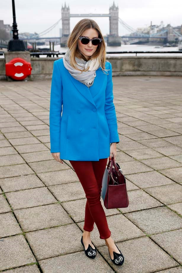 <p>February 18, 2014</p> <p>Olivia Palermo is sighted arriving at Anya Hindmarch A/W 2014 held at 1 Old Billingsgate Walk during London Fashion Week.</p>
