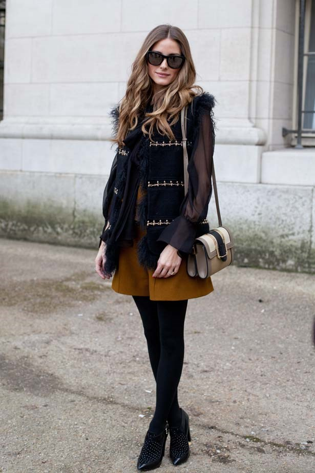 <p>March 02, 2014</p> <p>Olivia Palermo in Paris.</p>