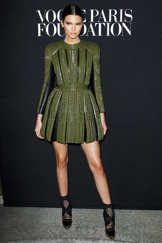 <p>July 09, 2014</p> <p>Kendall Jenner attends the Vogue Foundation Gala as part of Paris Fashion Week at Palais Galliera.</p>