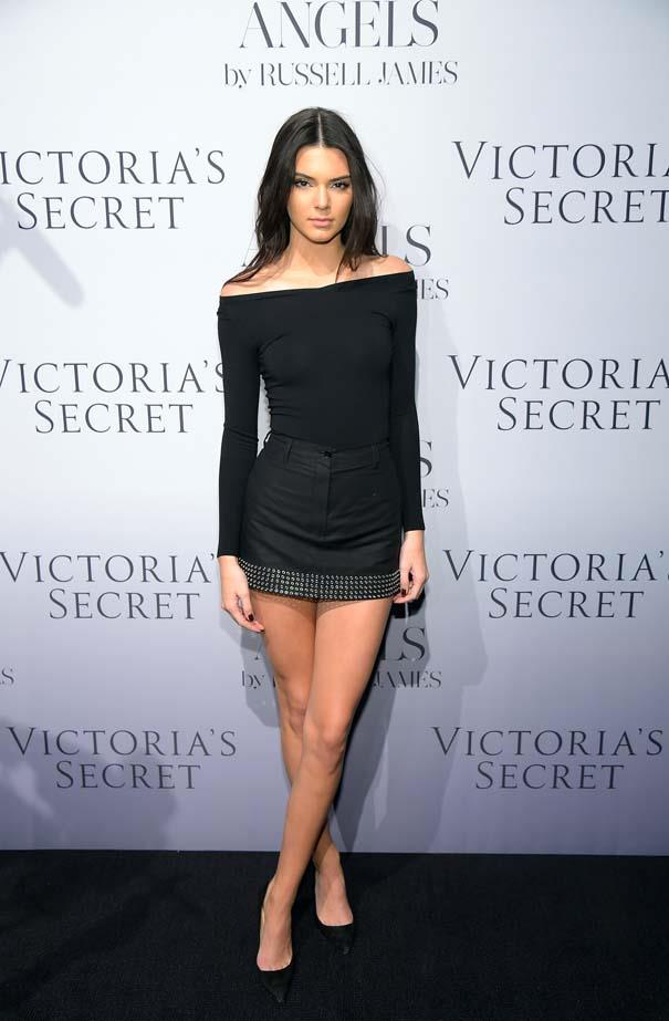 <p>September 10, 2014</p> <p>Kendall Jenner attends Russell James' 'Angels' book launch hosted by Victoria's Secret in New York.</p>