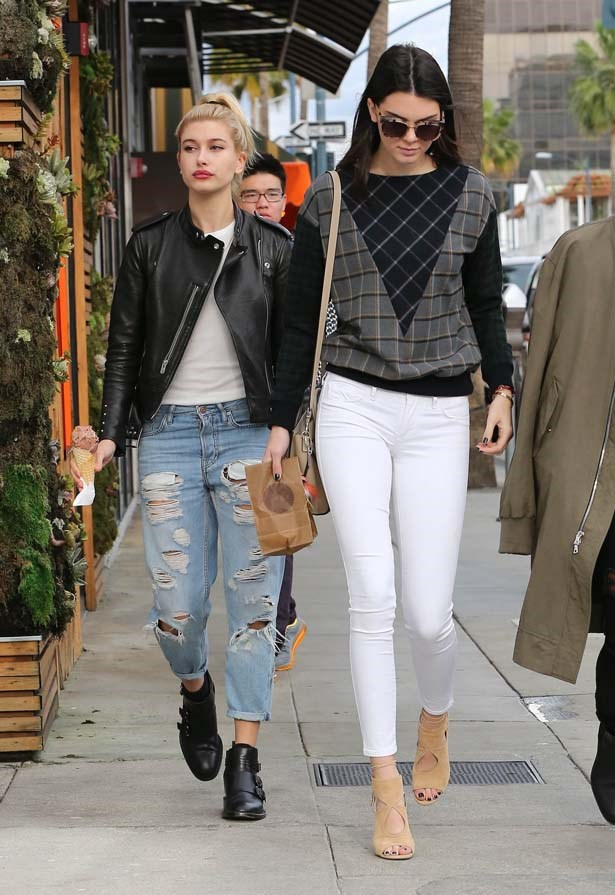 <p>December 17, 2014</p> <p>Kendall Jenner and Hailey Baldwin are seen together in Los Angeles.</p>