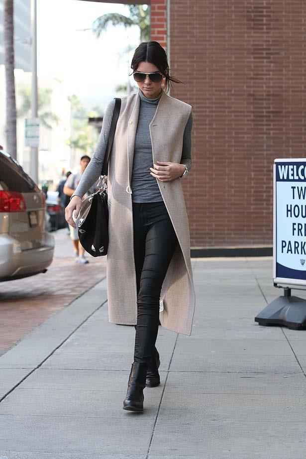 <p>February 03, 2015</p> <p>Kendall Jenner spotted out and about in Los Angeles.</p>