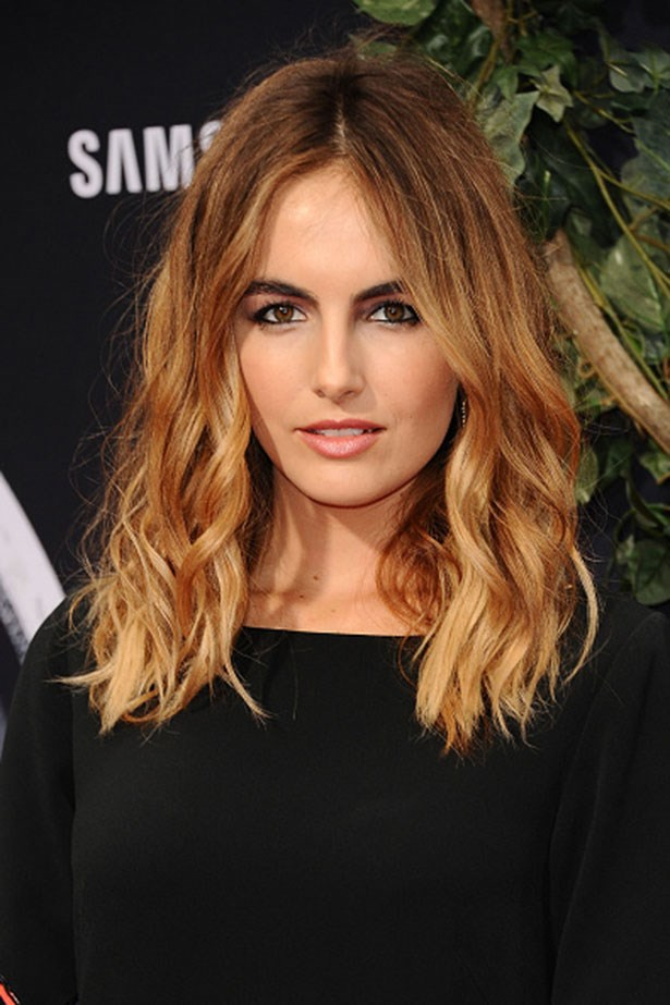 <strong>Camilla Belle</strong> <br> <br> <em>Wavy hair and defined brows</em>
