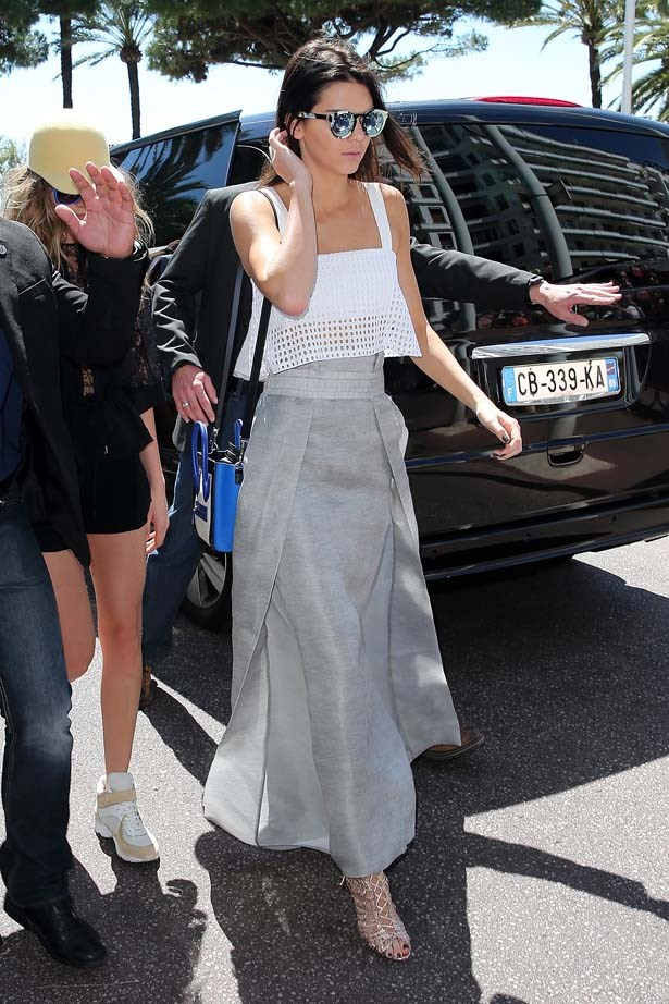 <p>May 20, 2015</p> <p>Kendall Jenner at the Martinez Hotel during the 68th annual Cannes Film Festival.</p>