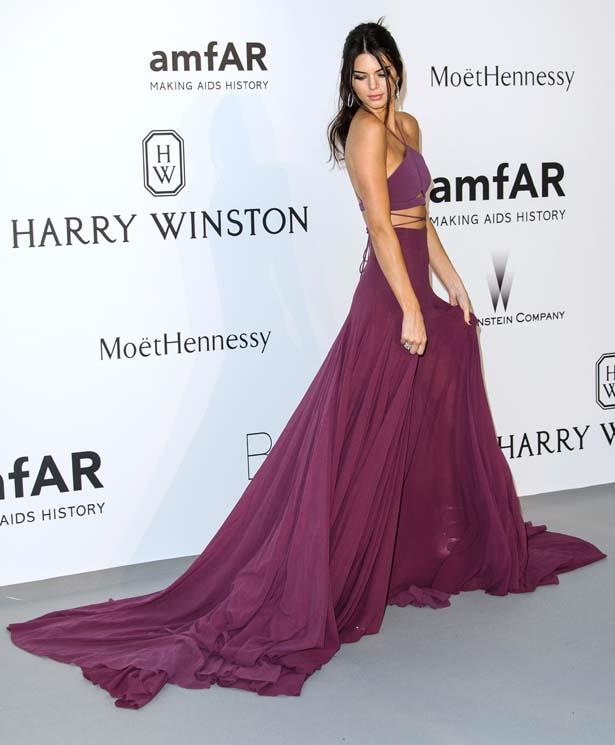 <p>May 21, 2015</p> <p>Kendall Jenner attends amfAR's 22nd Cinema Against AIDS Gala, Presented By Bold Films And Harry Winston at Hotel du Cap-Eden-Roc.</p>