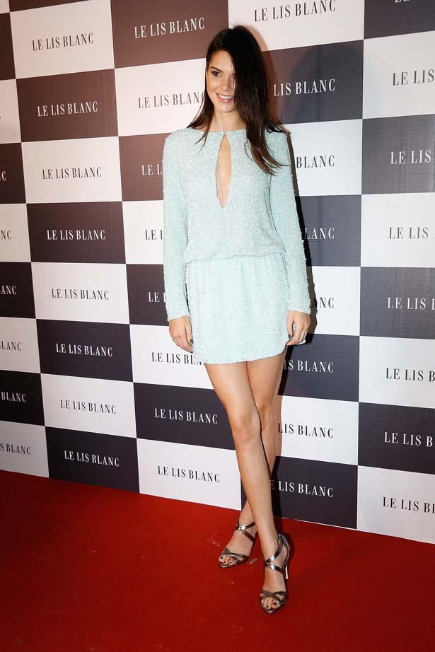 <p>May 28, 2015</p> <p>Kendall Jenner attends Le Lis Blanc Winter Collection Cocktail at Le Lis Blanc store in Brazil.</p>