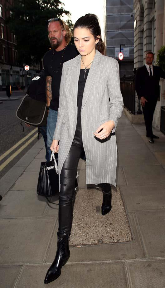 <p>July 02, 2015</p> <p>Kendall Jenner at the Edition hotel in London, England.</p>