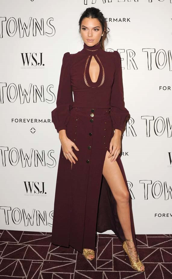 <p>July 18, 2015</p> <p>Kendall Jenner arrives at the Screening Of 20th Century Fox's 'Paper Towns' wearing Zimmermann.</p>