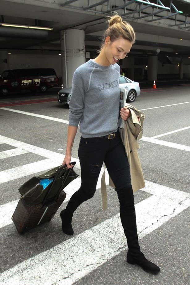 Kloss nails in transit chic.