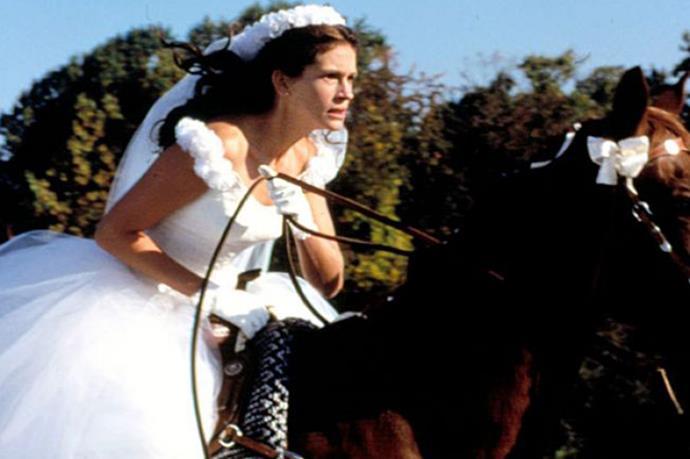 The 90s was basically one long Julia Roberts wedding movie. Like Runaway Bride! So great.