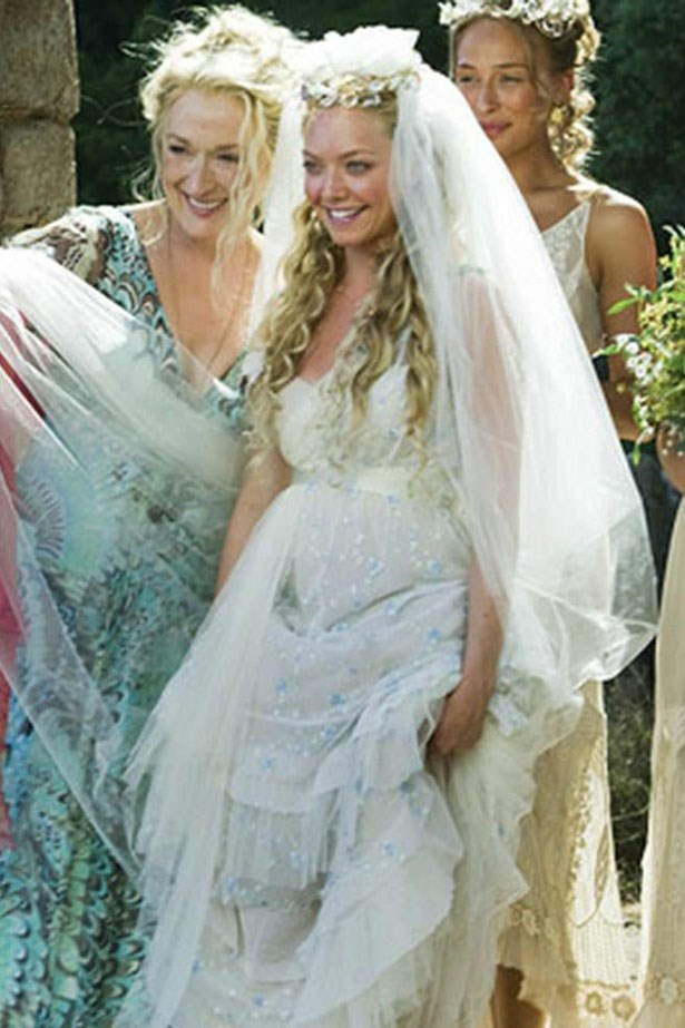 A wedding movie with singing and ABBA and Meryl Streep and Amanda Seyfried? Oh gosh yes. Thanks Mama Mia!
