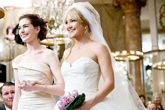 Bride Wars, fairly awful film, fairly amazing dresses.