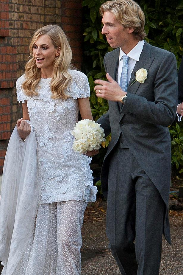 Poppy Delevingne wore Chanel for her London wedding to James Cook in 2014 … and then she had a second wedding in Marrakesh the next week. Dreamy.