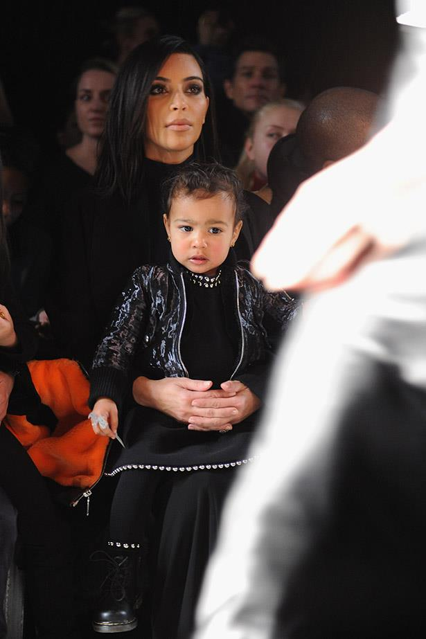 North West is one seriously well-dressed kid.