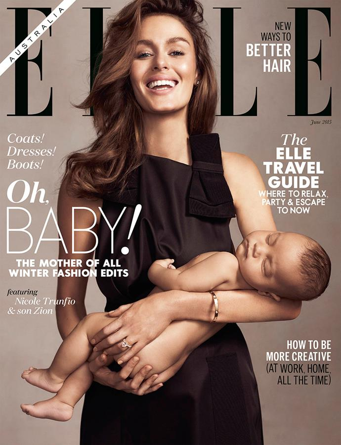 And, of course, baby Zion, who featured on our cover with mum, Nicole Trunfio!